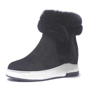 Womens Wedge Winter Boots